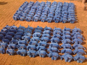 The elePHPants march